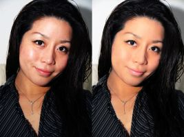 Asian Girl Retouch by madalincmc