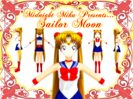 MMD Sailor Moon by MidnightMiku
