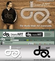 Deviantart New Logo by MahdyDesigns