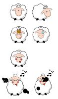 sheep by danaporky