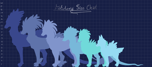 Official Felidoxy Size Chart [Thick Coats Added!] by Sevonite