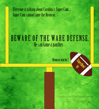 Beware the WARE Defense! by Desertfire