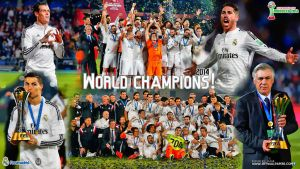 REAL MADRID WORLD CHAMPIONS 2014 by jafarjeef