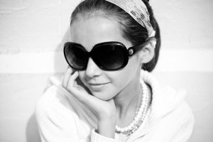 A Little Hepburn - 1 of 365 by escaped-emotions