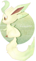 Leafeon by sonicelectronic
