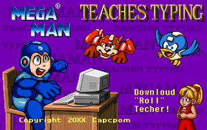 Mega Man Teaches Typing by Diggeh