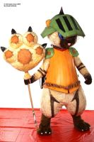 Airou cat Monster hunter 8 by Shoko-Cosplay