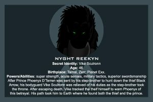 The Raiders: Nyght Reekyn by Silvre