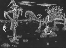 Scratchboard Assignment by sanora