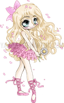 Lovely Ballerina Chibi Commission by YamPuff