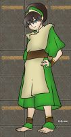 Toph From Avatar by g-gomez