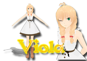[RQ] Viola's new outfit (+DL removed!) by NaminF