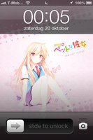 Iphone 4 Sakurasou no Pet na Kanojo Shiina Mashiro by Akw-Art-Design
