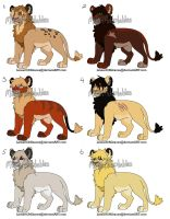 Male Lion Adopts CLOSED by MikasAdoptables