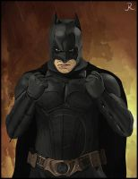Batman (Begins) by SpideyVille