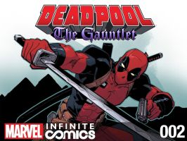 Deadpool The Gauntlet 2 Cover by ReillyBrown
