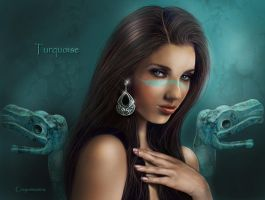 Turquoise by crayonmaniac