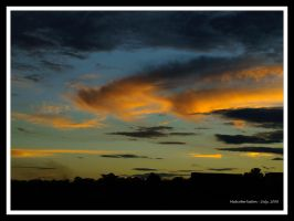 Winter Sunset in Bringelly 2 by FireflyPhotosAust