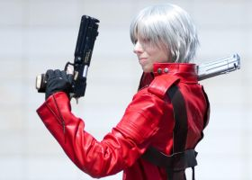 Dante Cosplay: Back to back by Abessinier