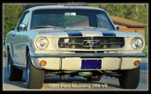 1965 Ford Mustang 289 V8 by joerayphoto