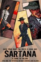 one variant cover for Sartana comicbook by VegasDay