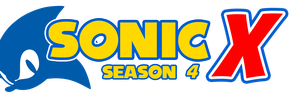 Sonic X Season 4 Logo by KingAsylus91