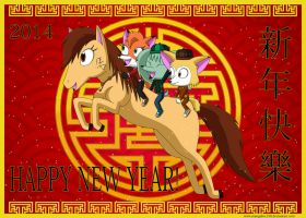 Chinese New Year 2014 by MangaFox156