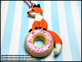 Donut Fox by GrandmaThunderpants