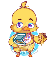 Five Nights at Freddy's Chica by RootisTabootus
