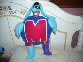 Max Blue Meanie Plush by DonutTyphoon