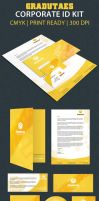 Graduate Corporate ID pack by ExtremeLogo