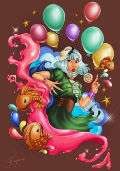 Candy Explosion by Shaiyan