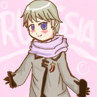 Chibi Russia from Hetalia by serpchi