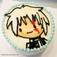 DGM: Allen Walker Cake by Kralle-K