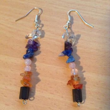 Chakra Earrings by GypsyWillow82