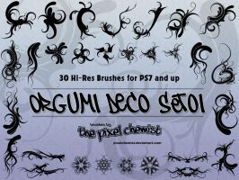 Brushes - Orgumi Deco Set01 by pixelchemist