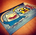 Olympics - FINN and JAKE swimming by geralddedios