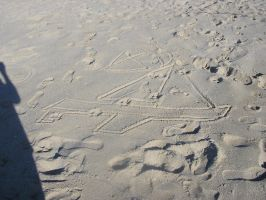 Sand Drawings by TAHU18