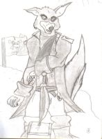 The Captain,Don Karnage by Jaegerwulf
