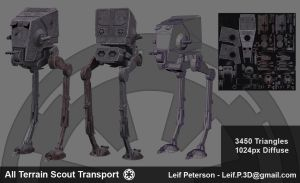 All Terrain Scout Transport by TheBothan
