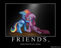 What It Means To Be A Friend: by A113rt-A113dmirer