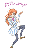 Do The Creep, Fujimoto by TheRandomAnchovy