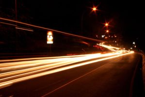 night road by Swielly