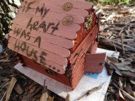 If My Heart Was a House, You'd Be Home by graffiti-blaze