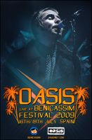 Oasis Benicassim Poster by SaintMichael