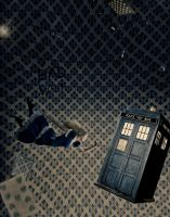 Alice in Tardis World. by Tooga