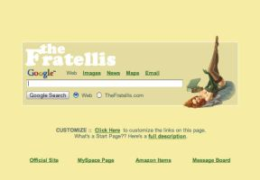 The Fratellis Startpage by AwesomeStart