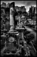 Hong Kong grave yard by roache7