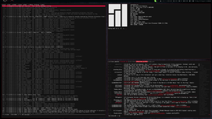 My Manjaro Work Machine (Aug 2013) by transienceband