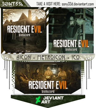 Resident Evil 7 by sony33d